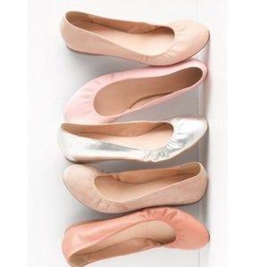 J.Crew CeCe Ballet Flats in Nude size 10 *Very EUC